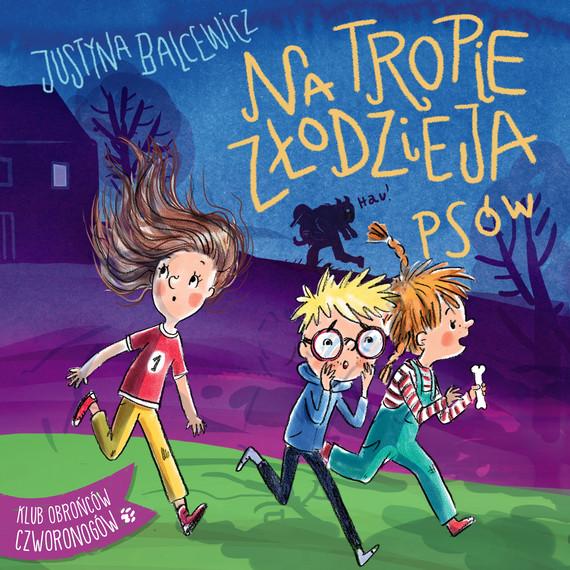okładka Na tropie złodzieja psówaudiobook   MP3   Balcewicz Justyna