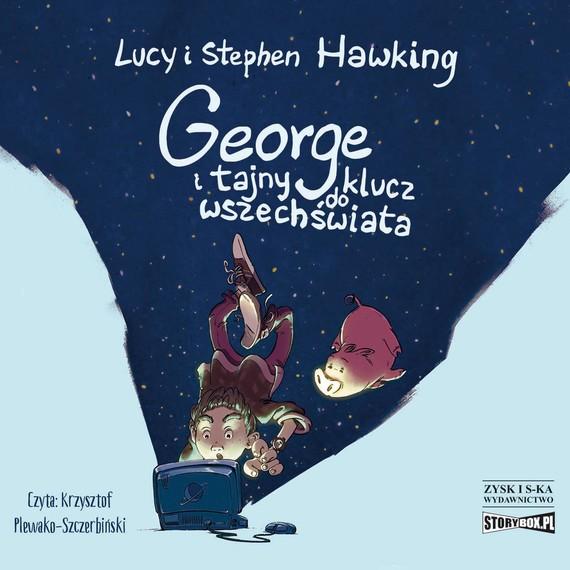 okładka George i tajny klucz do wszechświataaudiobook | MP3 | Stephen Hawking, Lucy Hawking