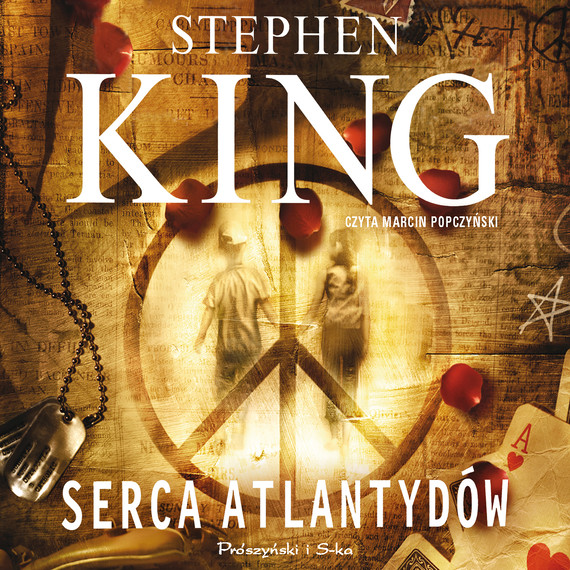 okładka Serca Atlantydówaudiobook   MP3   Stephen King