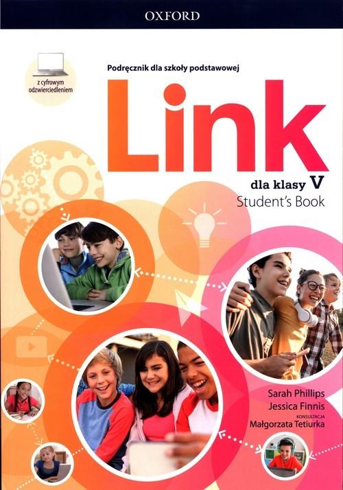 okładka Link dla klasy 5 Podręcznik z cyfrowym odzwierciedleniemksiążka |  | Sarah Phillips, Jessica Finnis