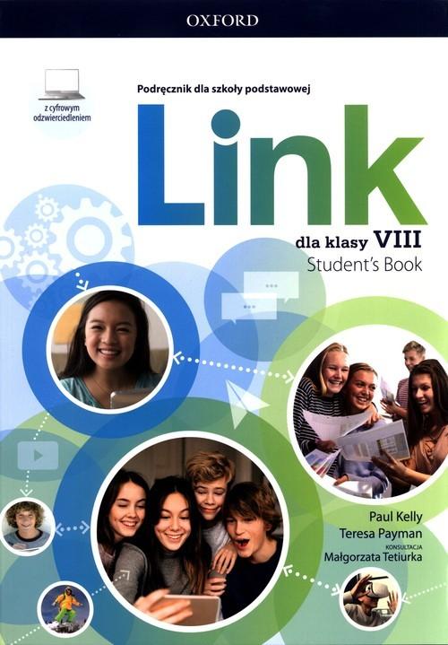 okładka Link dla klasy 8 Podręcznik z cyfrowym odzwierciedleniemksiążka |  | Paul Kelly, Payman Teresa