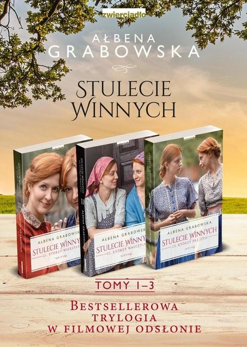okładka Stulecie Winnych Tom 1-3 Pakietksiążka |  | Ałbena Grabowska