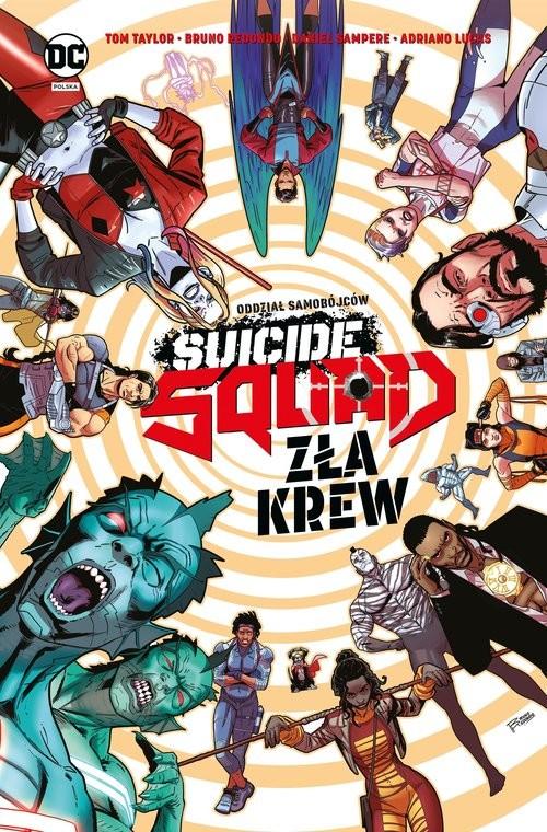okładka Suicide Squad Zła krewksiążka      null