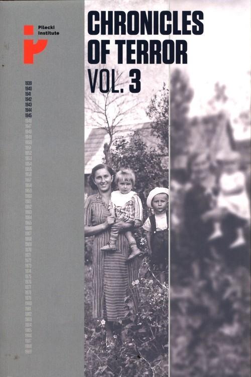 okładka Chronicles of Terror Vol. 3 German occupation in the Radom Districtksiążka     