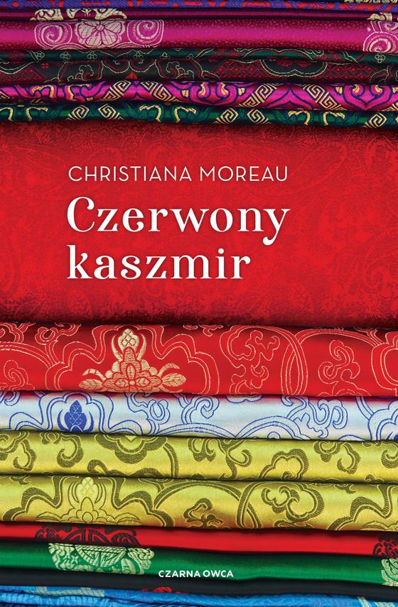 okładka Czerwony kaszmirebook   epub, mobi   Christiana Moreau