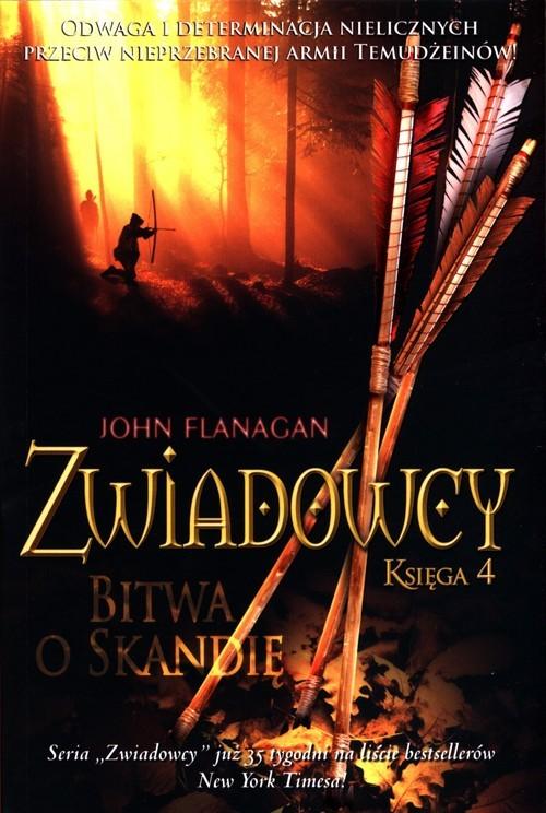 okładka Zwiadowcy Księga 4 Bitwa o Skandięksiążka |  | John Flanagan