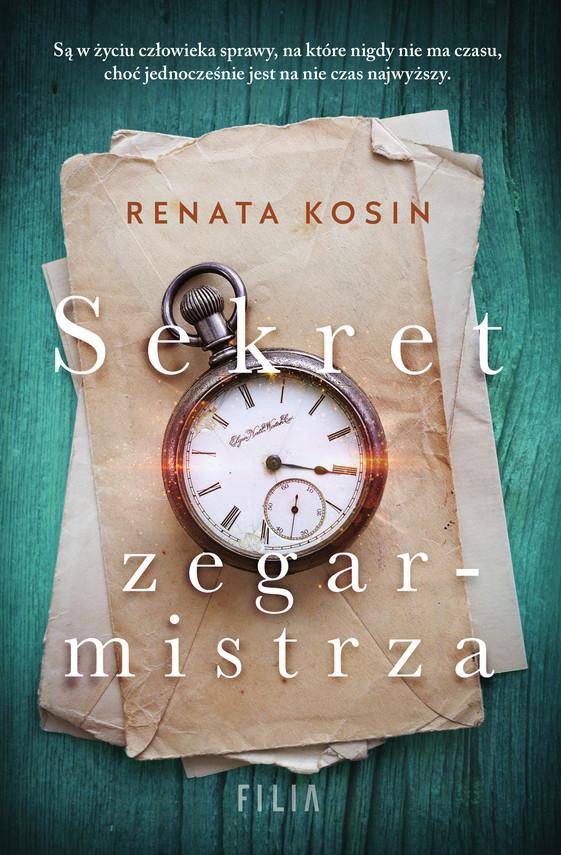 okładka Sekret zegarmistrzaebook   epub, mobi   Renata Kosin