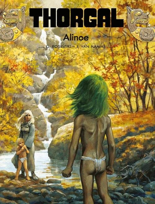 okładka Thorgal Alinoe Tom 8książka |  | Grzegorz Rosiński, Jean Van Hamme