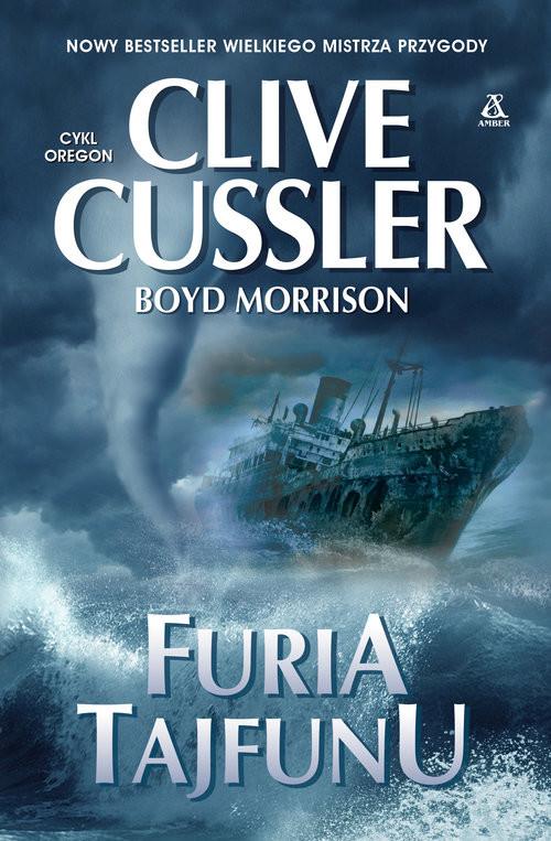 okładka Furia tajfunuksiążka |  | Clive Cussler, Boyd Morrison