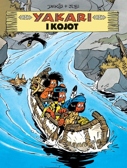 okładka Yakari i kojot Tom 12książka     