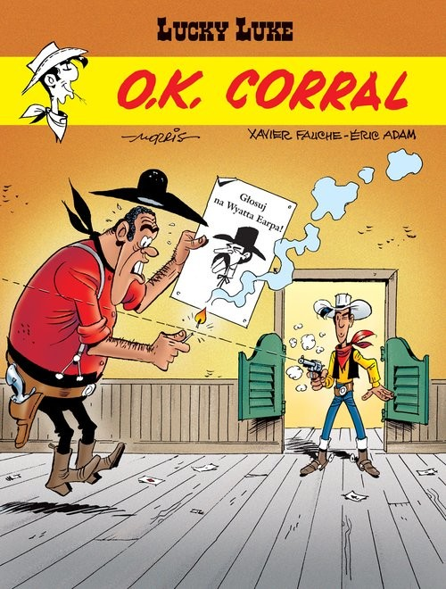 okładka Lucky Luke O.K. Corral Tom 66książka |  |