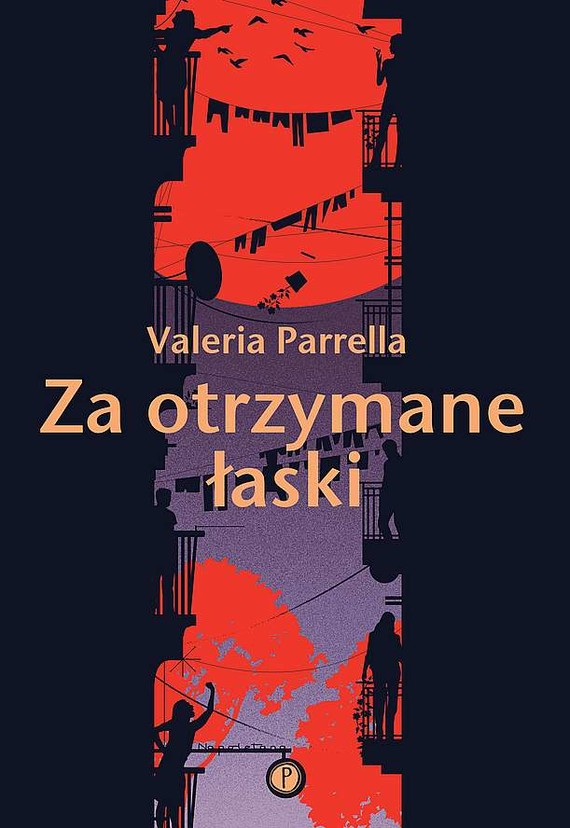 okładka Za otrzymane łaski książka |  | Valeria Parrella