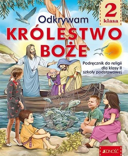 okładka Katechizm 2 Odkrywam Królestwo Boże Podręcznik do religii Szkoła podstawowaksiążka |  |