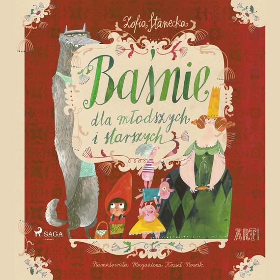 okładka Baśnie dla młodszych i starszych: Trzy świnkiaudiobook | MP3 | Zofia Stanecka