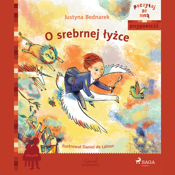 okładka O srebrnej łyżceaudiobook   MP3   Justyna Bednarek