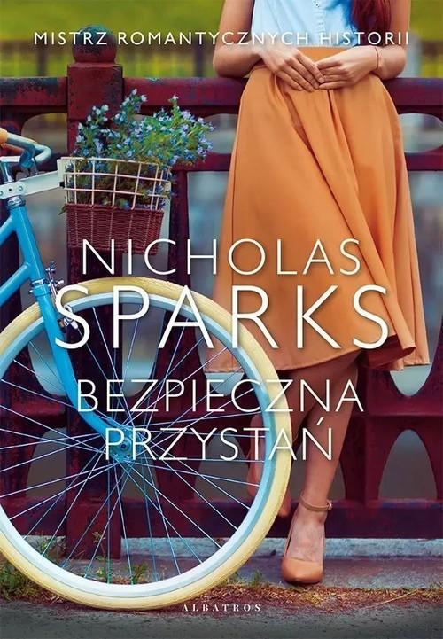 okładka Bezpieczna przystańksiążka      Nicholas Sparks