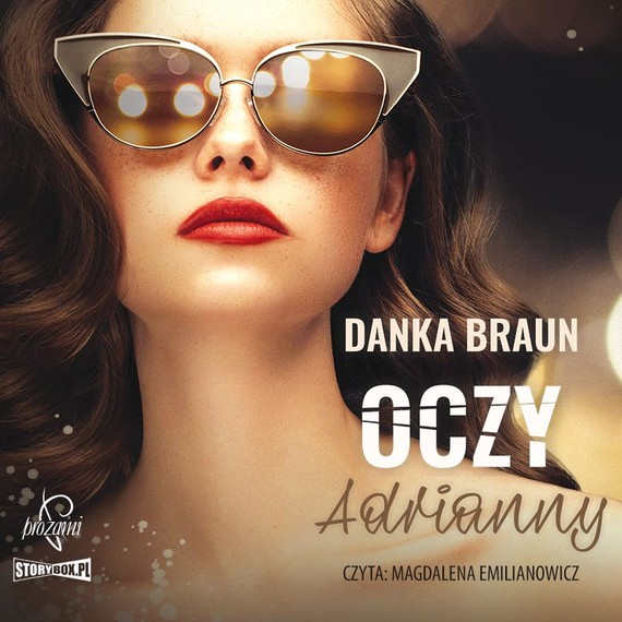okładka Oczy Adriannyaudiobook | MP3 | Danka Braun