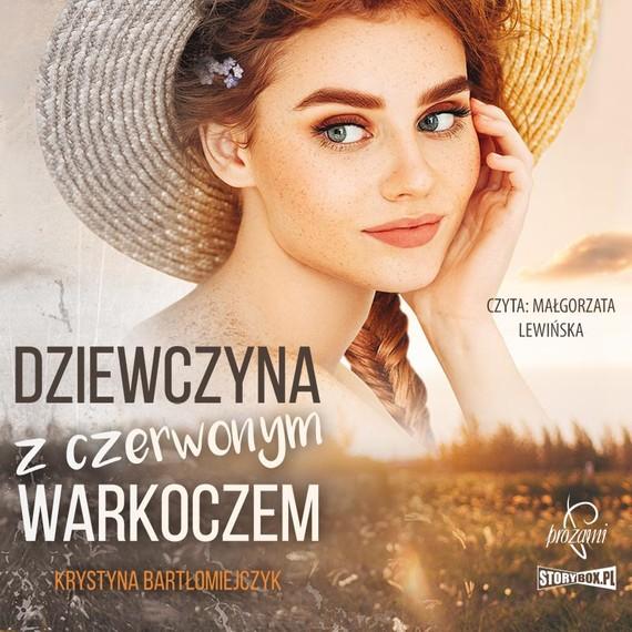 okładka Dziewczyna z czerwonym warkoczemaudiobook | MP3 | Krystyna Bartłomiejczyk