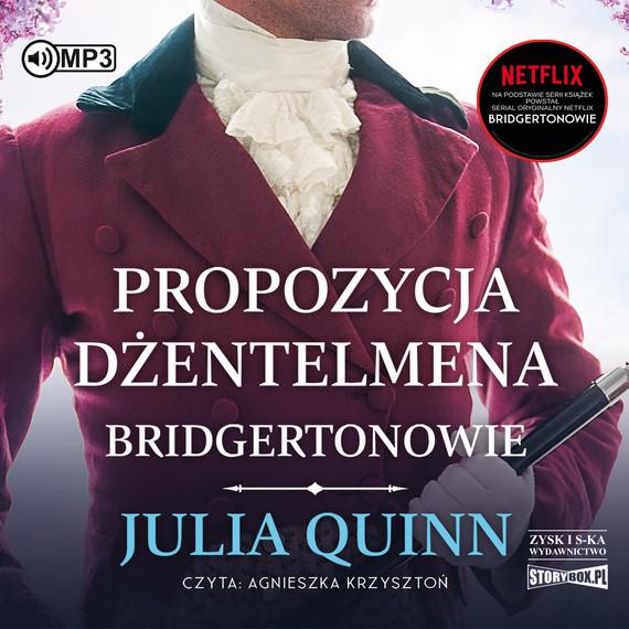 okładka Propozycja dżentelmenaaudiobook   MP3   Julia Quinn