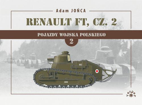 okładka Renault FT Tom 1 Część 2książka      Adam Jońca