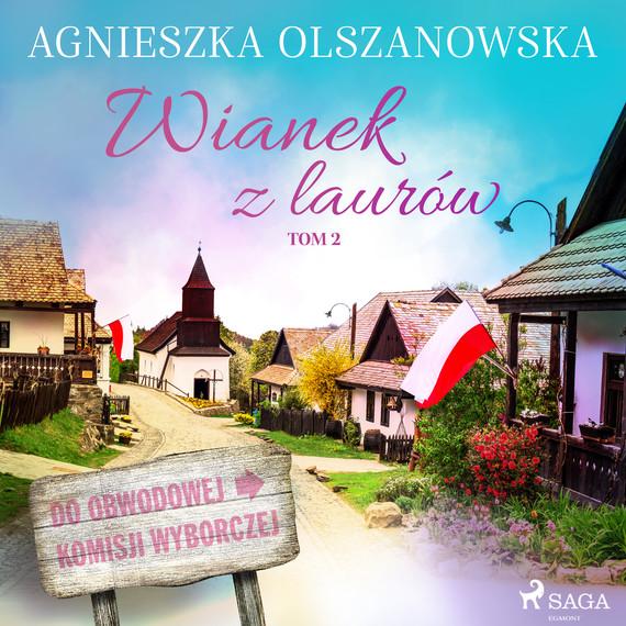 okładka Wianek z lauruaudiobook | MP3 | Agnieszka Olszanowska