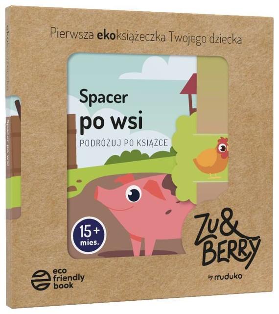 okładka Podróżuj po książce. Spacer po wsi. 15 miesięcy + książka      Praca Zbiorowa