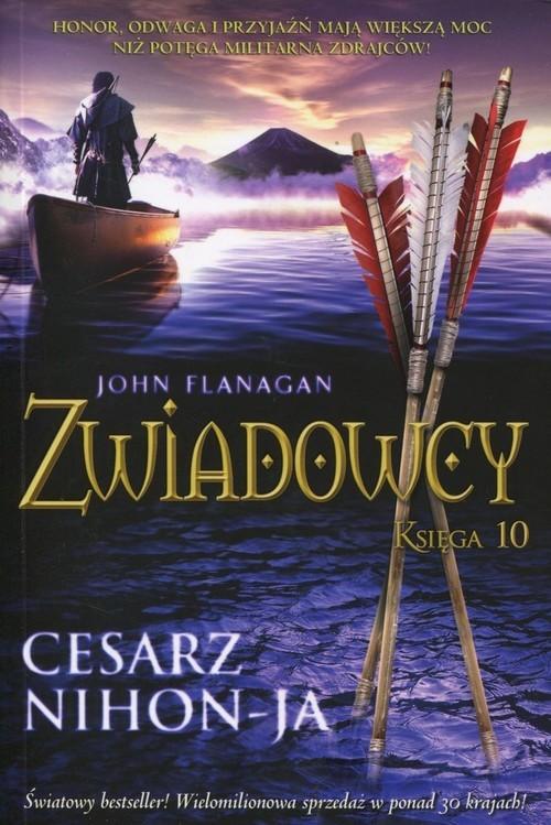okładka Zwiadowcy Księga 10 Cesarz Nihon-Jaksiążka |  | John Flanagan