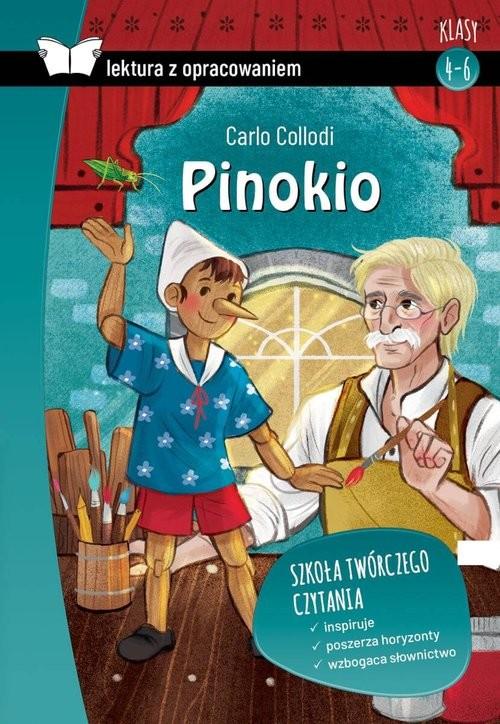 okładka Pinokio Z opracowaniemksiążka      Carlo Collodi