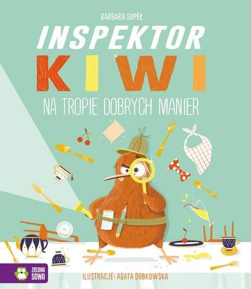 okładka Inspektor Kiwi na tropie dobrych manierksiążka |  | Barbara Supeł