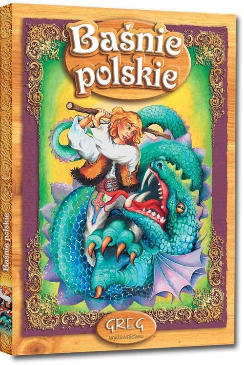 okładka Baśnie polskieksiążka     