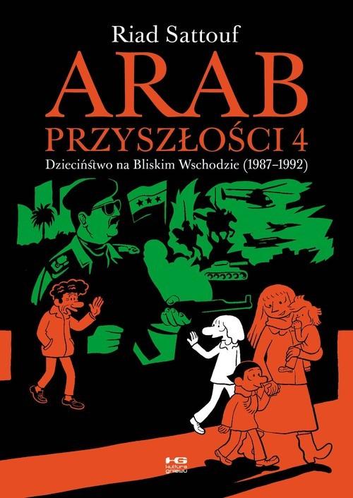 okładka Arab przyszłości 4książka      Sattouf Riad
