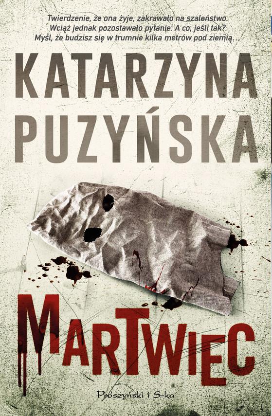 okładka Martwiecebook   epub, mobi   Katarzyna Puzyńska