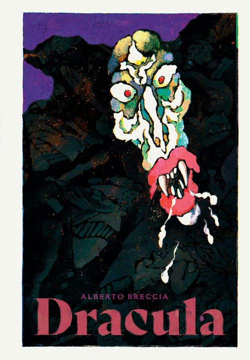 okładka Draculaksiążka      Alberto Breccia