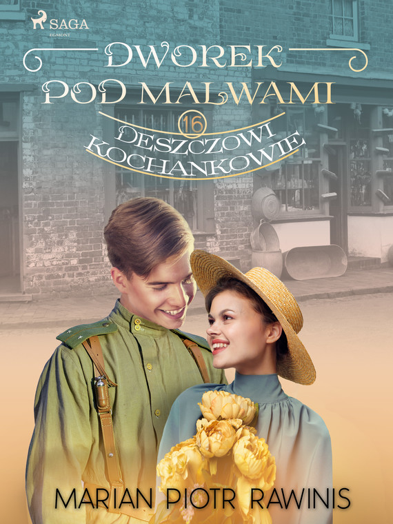 okładka Dworek pod Malwami 16 - Deszczowi kochankowieebook | epub, mobi | Marian Piotr Rawinis