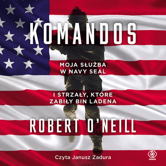 okładka Komandosaudiobook   MP3   Robert O'Neill