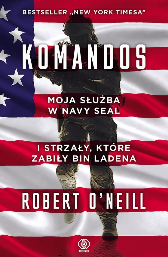 okładka Komandosebook | epub, mobi | Robert O'Neill