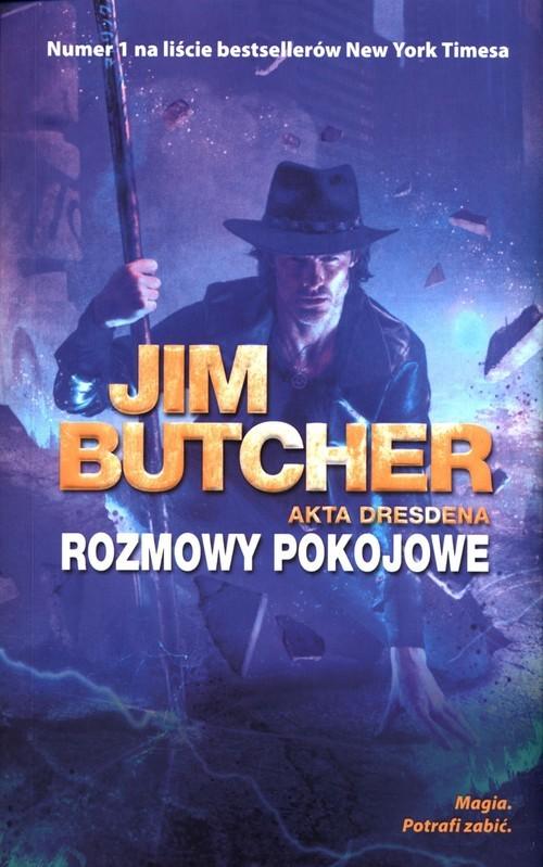 okładka Akta Dresdena Tom 16 Rozmowy pokojoweksiążka |  | Jim Butcher