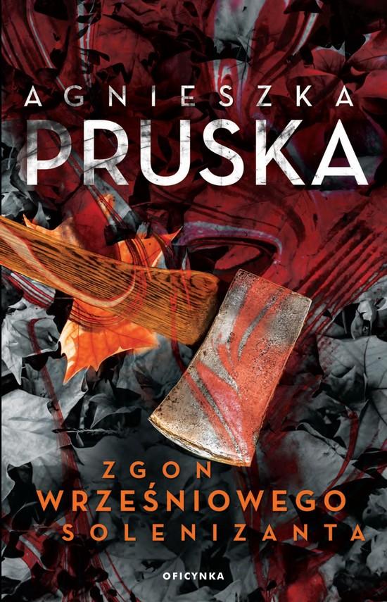 okładka Zgon wrześniowego solenizantaebook | epub, mobi | Agnieszka Pruska