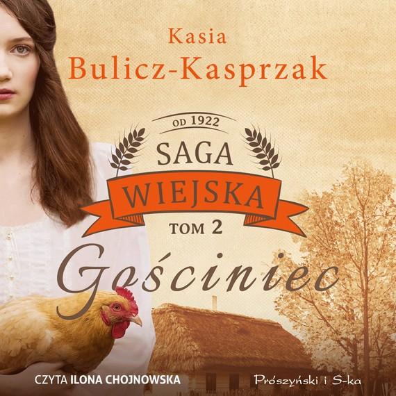 okładka Gościniecaudiobook   MP3   Kasia Bulicz-Kasprzak