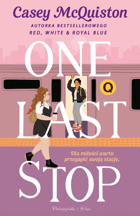 okładka One Last Stopebook | epub, mobi | Casey McQuiston
