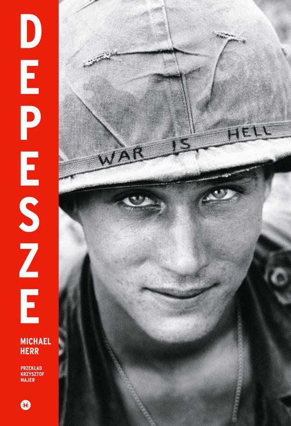 okładka Depeszeebook   epub, mobi   Michael Herr