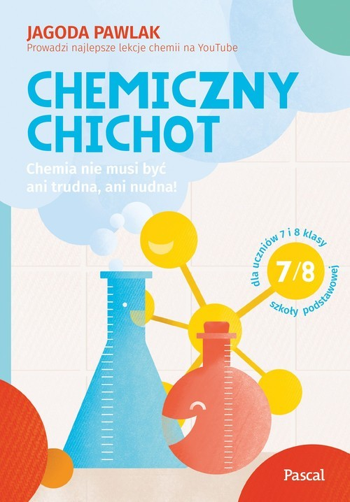 okładka Chemiczny chichotksiążka      Jagoda Pawlak