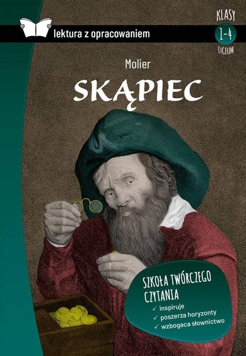okładka Skąpiec Lektura z opracowaniem Liceumksiążka |  | Molier