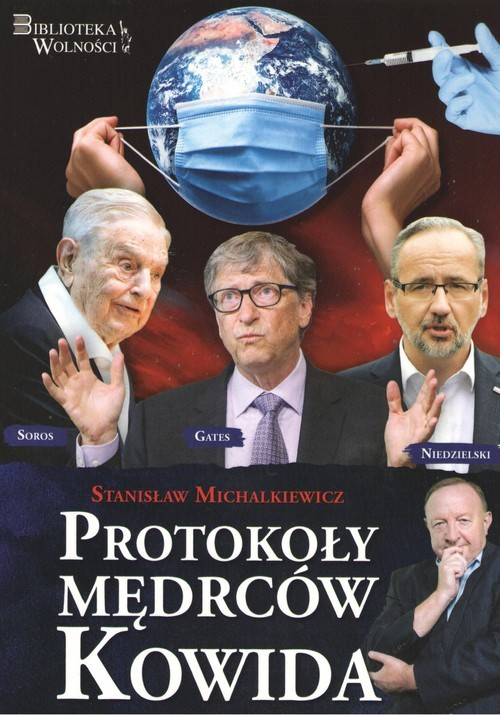 okładka Protokoły Mędrców Kowidaksiążka |  | Michalkiewicz Stanisław