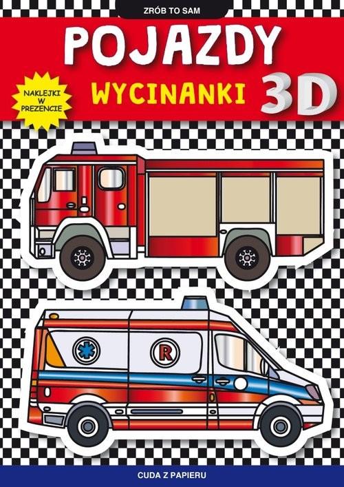 okładka Pojazdy wycinanki 3 Dksiążka      Krzysztof Tonder
