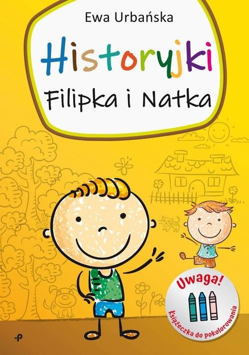 okładka Historyjki Filipka i Natkaksiążka |  | Ewa Urbańska