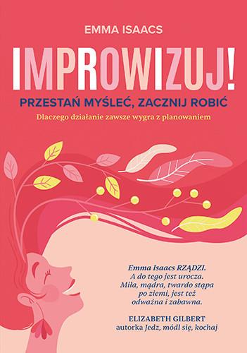 okładka Improwizujksiążka |  | Emma Isaacs