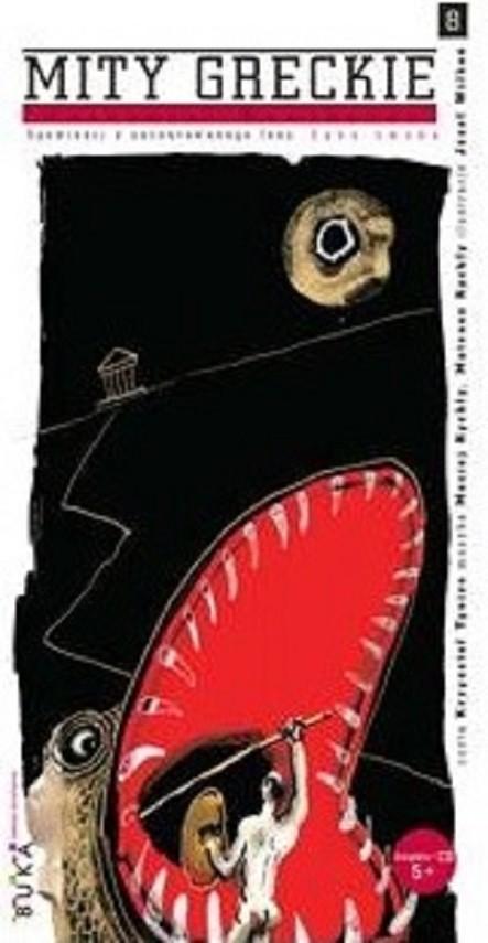 okładka Mity greckie cz. 8 Zęby smokaksiążka      Nathaniel Hawthorne