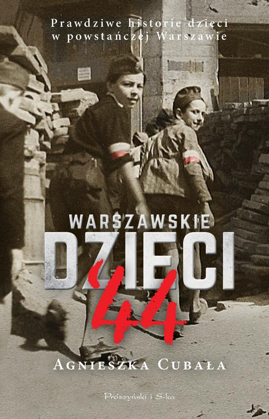 okładka Warszawskie dzieci`44ebook | epub, mobi | Agnieszka Cubała
