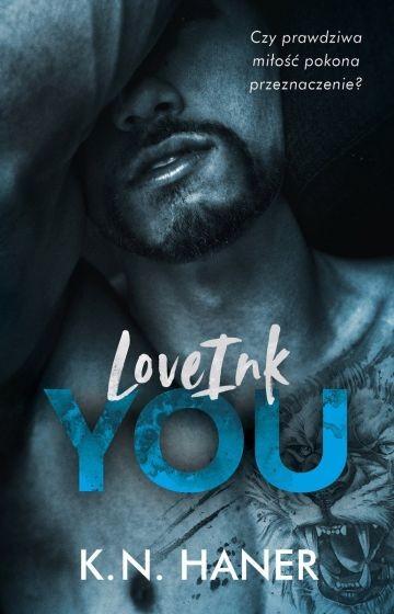 okładka LoveInk You książka      K.N. Haner